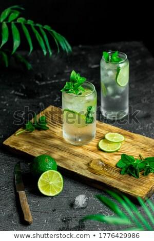 Fresco mojito tabela limão álcool cal Foto stock © Masha