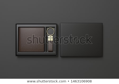open empty brown purse for keys stock photo © ruslanomega