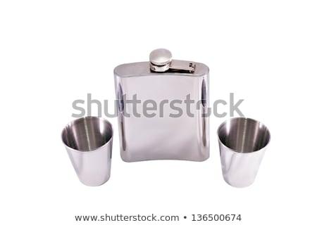 Alcohol twee staal dranken Stockfoto © Roka