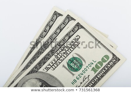dollar banknotes isolated on white background stock photo © luckyraccoon
