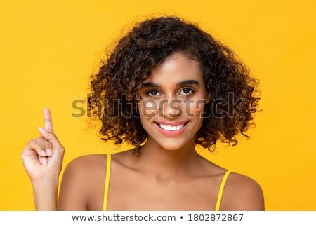 Beauté regarder caméra charmant sourire modèle Photo stock © StormPictures