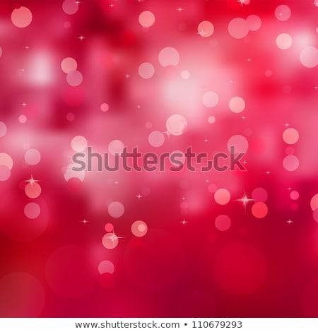 abstract red magic lights bokeh eps 8 stock photo © beholdereye