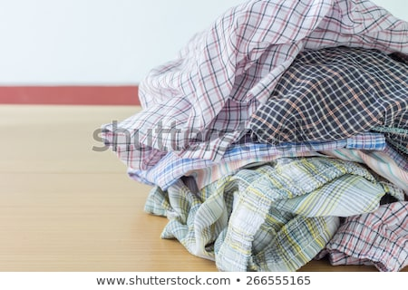Creased Striped T-shirt Stock photo © filipw