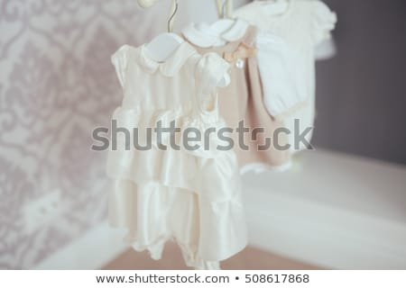 Fashion collection: Adorable little girl on white stock photo © Escander81
