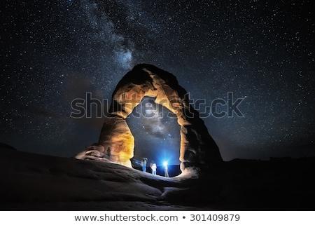 Porte arc parc Utah lumière Photo stock © AndreyKr
