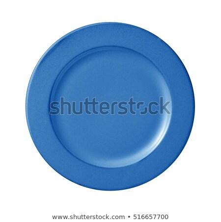 Blue plate Stock photo © Taigi
