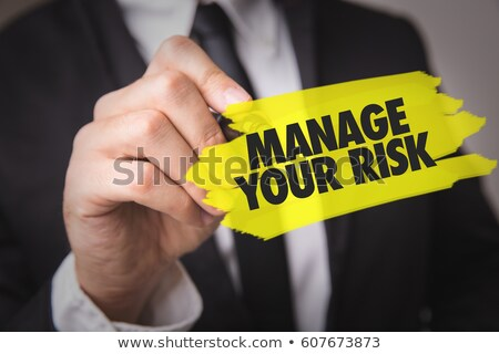 manage your risk Stock photo © flipfine
