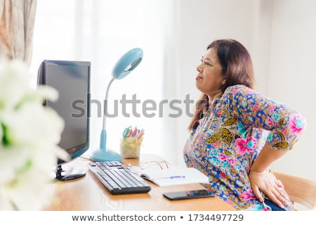 business person having lowered hands Stock photo © goryhater