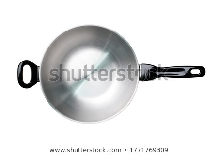 Inoxidable pan alimentos casa acero cocinar Foto stock © ozaiachin