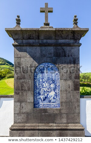 Place of pilgrimage on Sao Miguel, Azores Stock photo © CaptureLight
