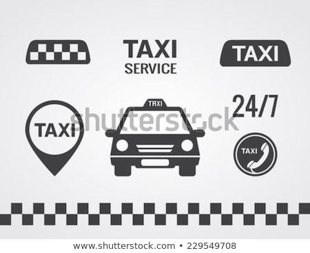 Transport Vehicle Yellow Vector Icon Button Stock photo © rizwanali3d
