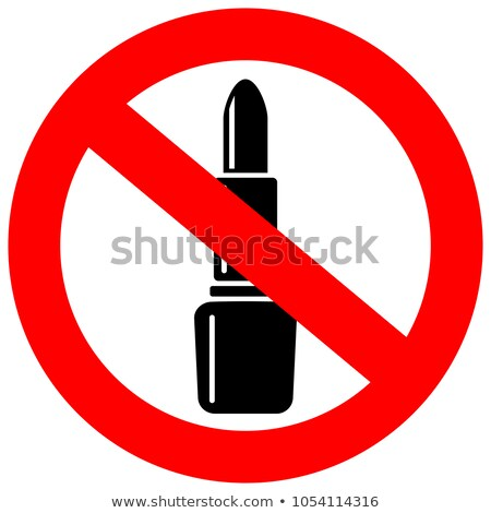 Cosmetic Beauty Product Restrictions Stock photo © Lightsource