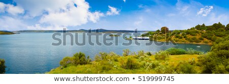nehir · doğa · spor · ağaçlar · seyahat · bitkiler - stok fotoğraf © lunamarina