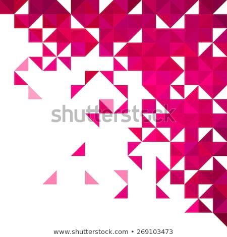 Abstract meetkundig spectrum achtergrond Stockfoto © SArts