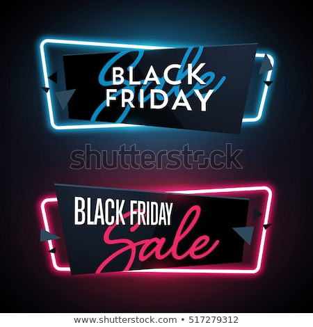 3d style black friday sale element design stock photo © sarts