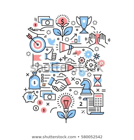 Mobile banking in business and entrepreneurship Stock photo © stevanovicigor