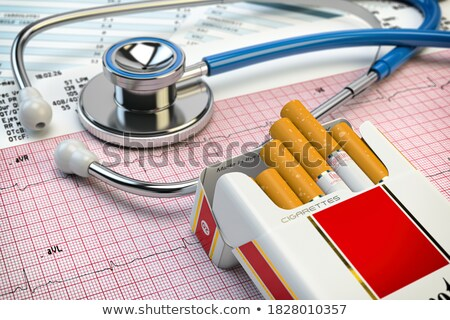 Diagnosis - Addiction. Medicine Concept. 3D Illustration. Stock photo © tashatuvango