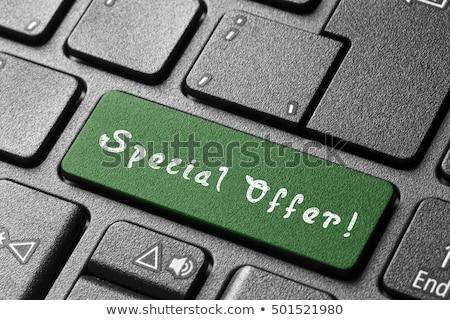 promo · dizüstü · bilgisayar · özel · Internet · defter · satış - stok fotoğraf © tashatuvango