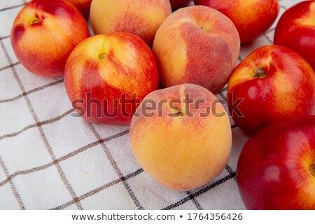 apple and peach stock photo © simply