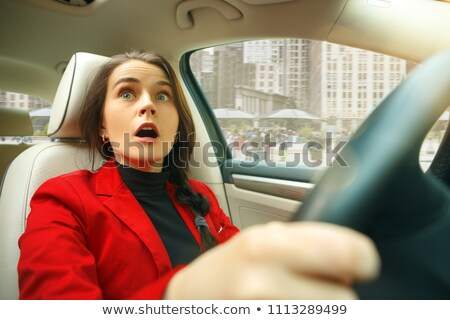Woman screaming in city Stock photo © IS2