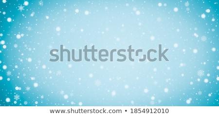 Kék bokeh hatás absztrakt világoskék égbolt Stock fotó © zven0