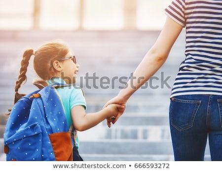 Happy Students Going to School  Stock photo © bluering