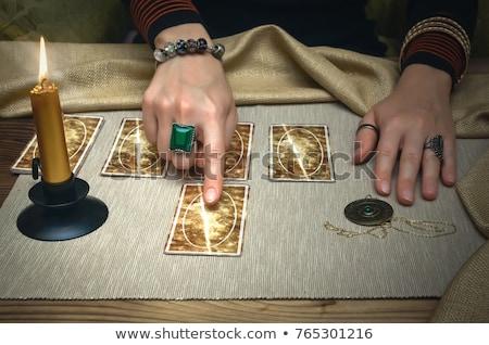 Card Index  Futures. Stock photo © tashatuvango