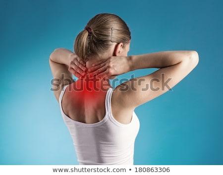 Mujer cuerpo algodón ropa interior belleza Foto stock © dolgachov