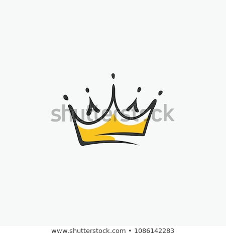 logo · korona · arany · babér · koszorú · pajzs - stock fotó © blaskorizov