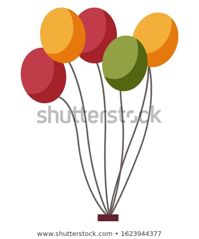 Color Balloons Decor, Park or Fun Fair Element Stock photo © robuart