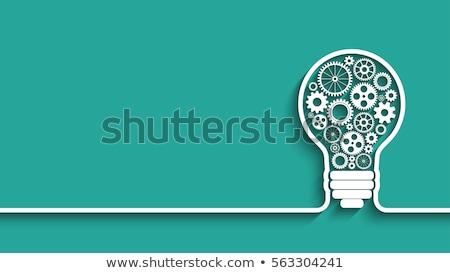 Estratégia de negócios empresário alvo seta mulher dados Foto stock © RAStudio