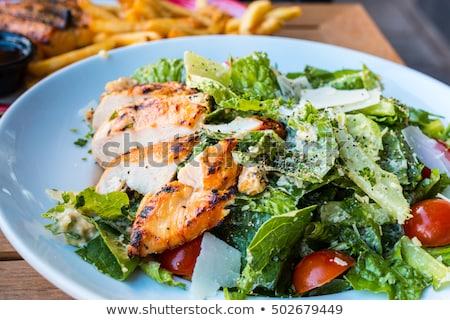 Portion of Caesar salad Stock photo © Alex9500