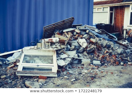 Outdoor scene with rubbish Stock photo © bluering