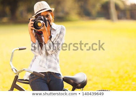 Photography Hobby of Person, Nature Photo Taking Stock photo © robuart