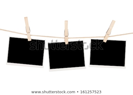 Old Film Blanks Hanging on a Rope Stock photo © Lopolo