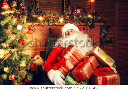 プレゼント · サンタクロース · 袋 · カラフル · クリスマス - ストックフォト © dashapetrenko
