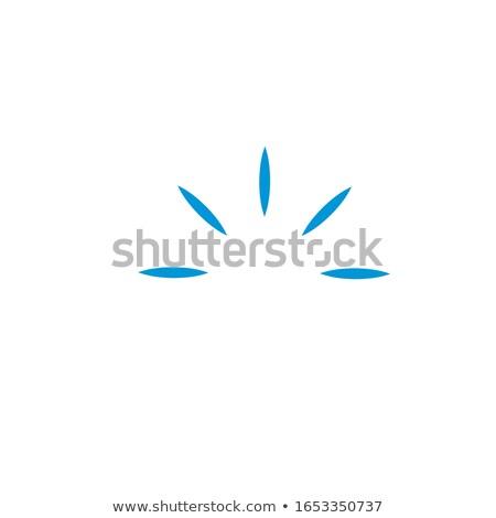 Metade círculo clique luz Foto stock © kyryloff