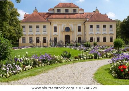 Palácio Alemanha barroco parque aldeia subúrbio Foto stock © borisb17