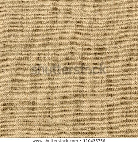 Burlap Fabric Texture Background Stock photo © Frankljr