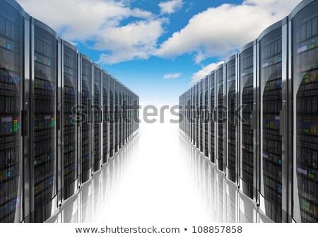 塔 ストレージ データ コンピュータ 孤立した 画像 ストックフォト © yupiramos