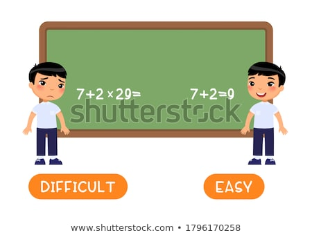 easy or difficult stock photo © leeser