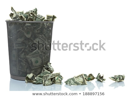 overflowing basket with money Stock photo © Mikko