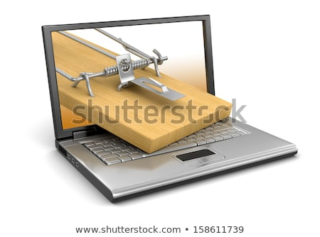 Three computer mouses with a mousetrap  Stock photo © AndreyKr