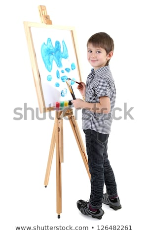 young boy painter Stock photo © photography33