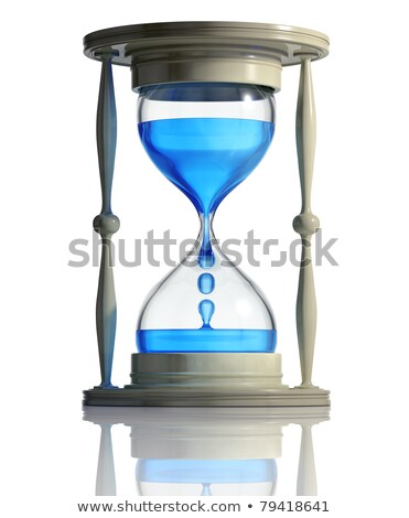 "Vintage conceptual illustration of ""time is running out"" Stock photo © hauvi"