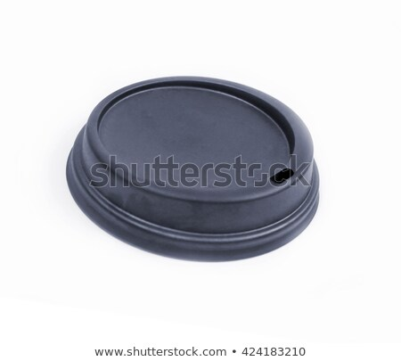 coffee lid isolate inside place with text Stock photo © shutswis