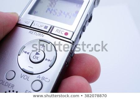 Stock photo: Electronic Audio Recorder