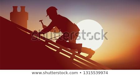 Tradesman laughing Stock photo © photography33
