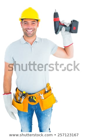 man holding power drill stock photo © photography33