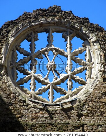 Rose Window Winchester Palace Stock photo © Snapshot